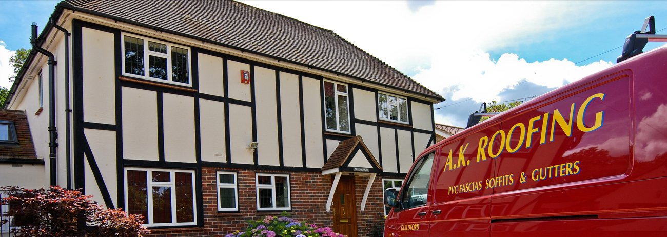 A.K. ROOFING van & A.K. Roofing u0026 Guttering | reliable roofers in Guildford memphite.com