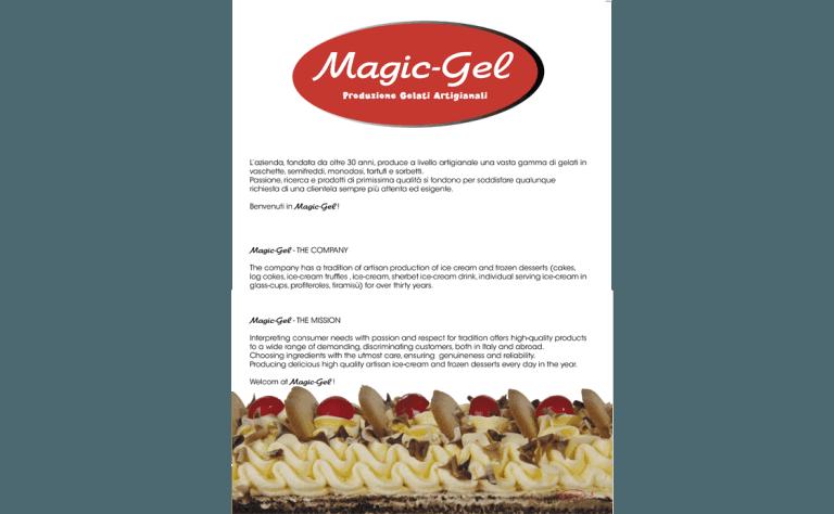 etichetta ingredienti torta gelata