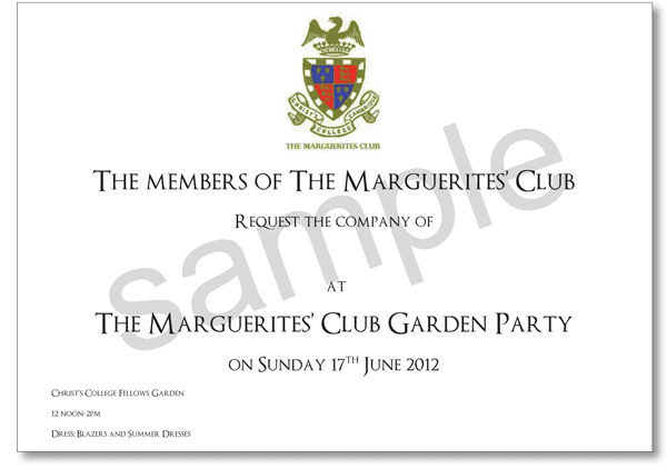 THE MEMBERS OF THE MARGUERITES CLUB poster