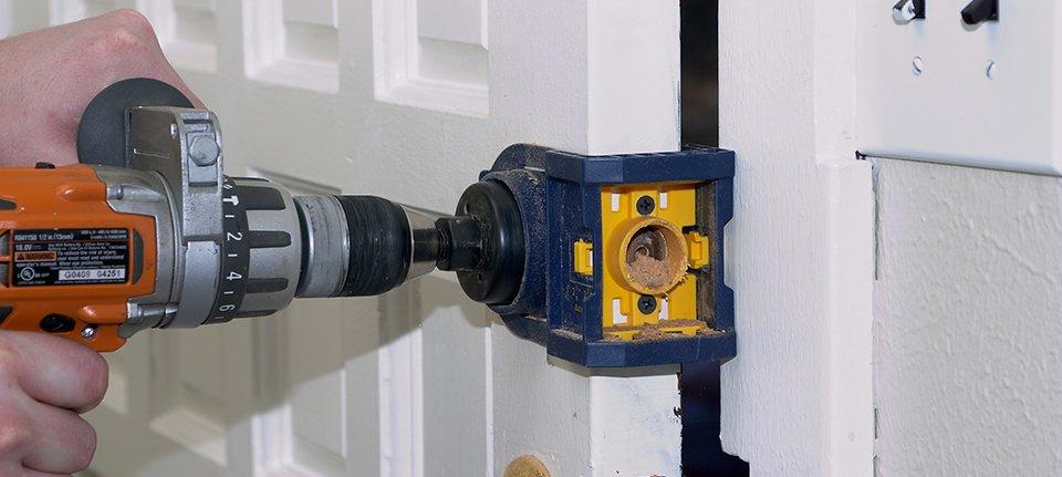 Jammed lock