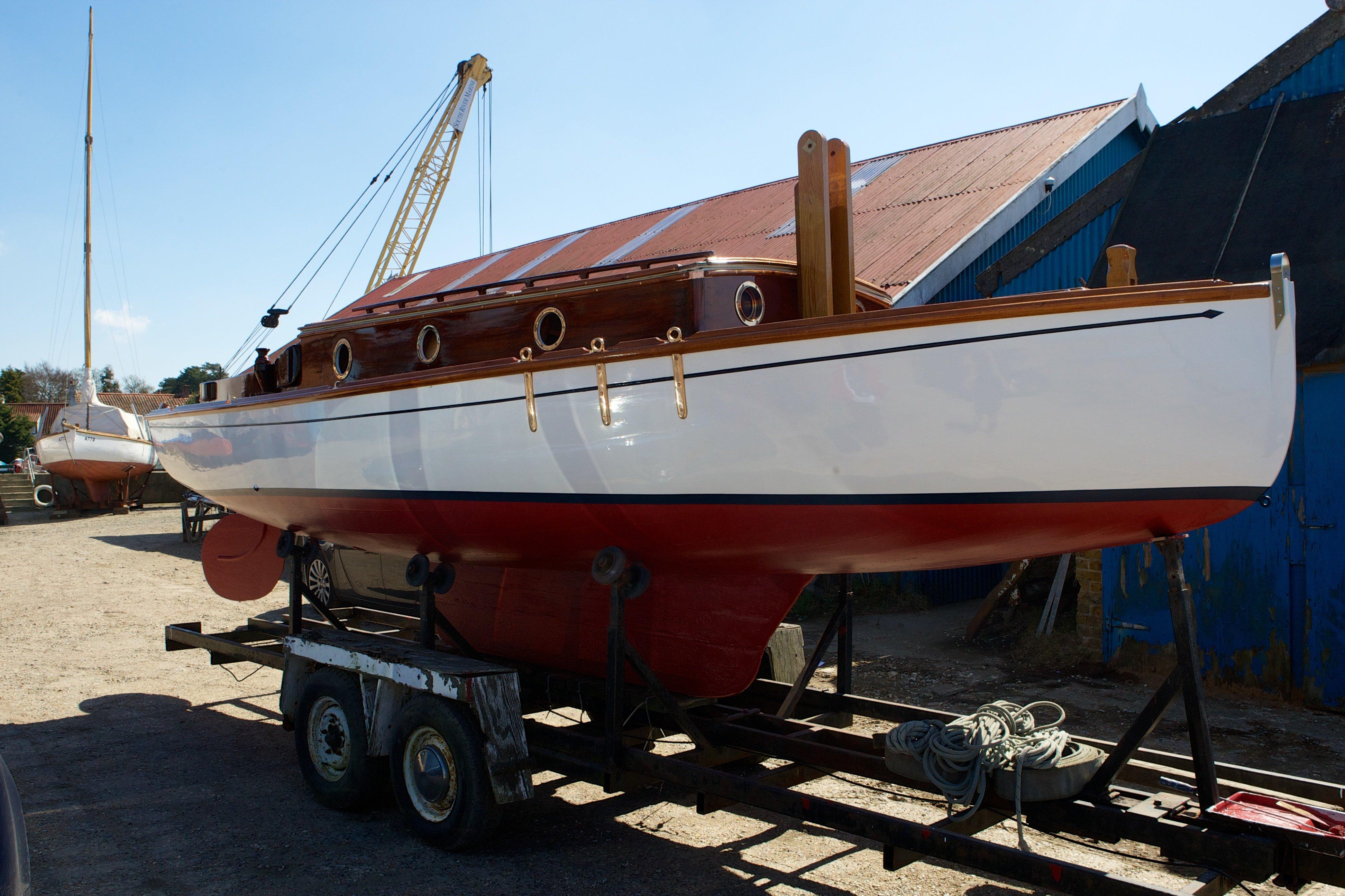 boat after restoration