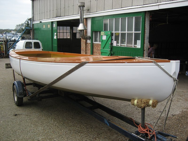 side view of the boat