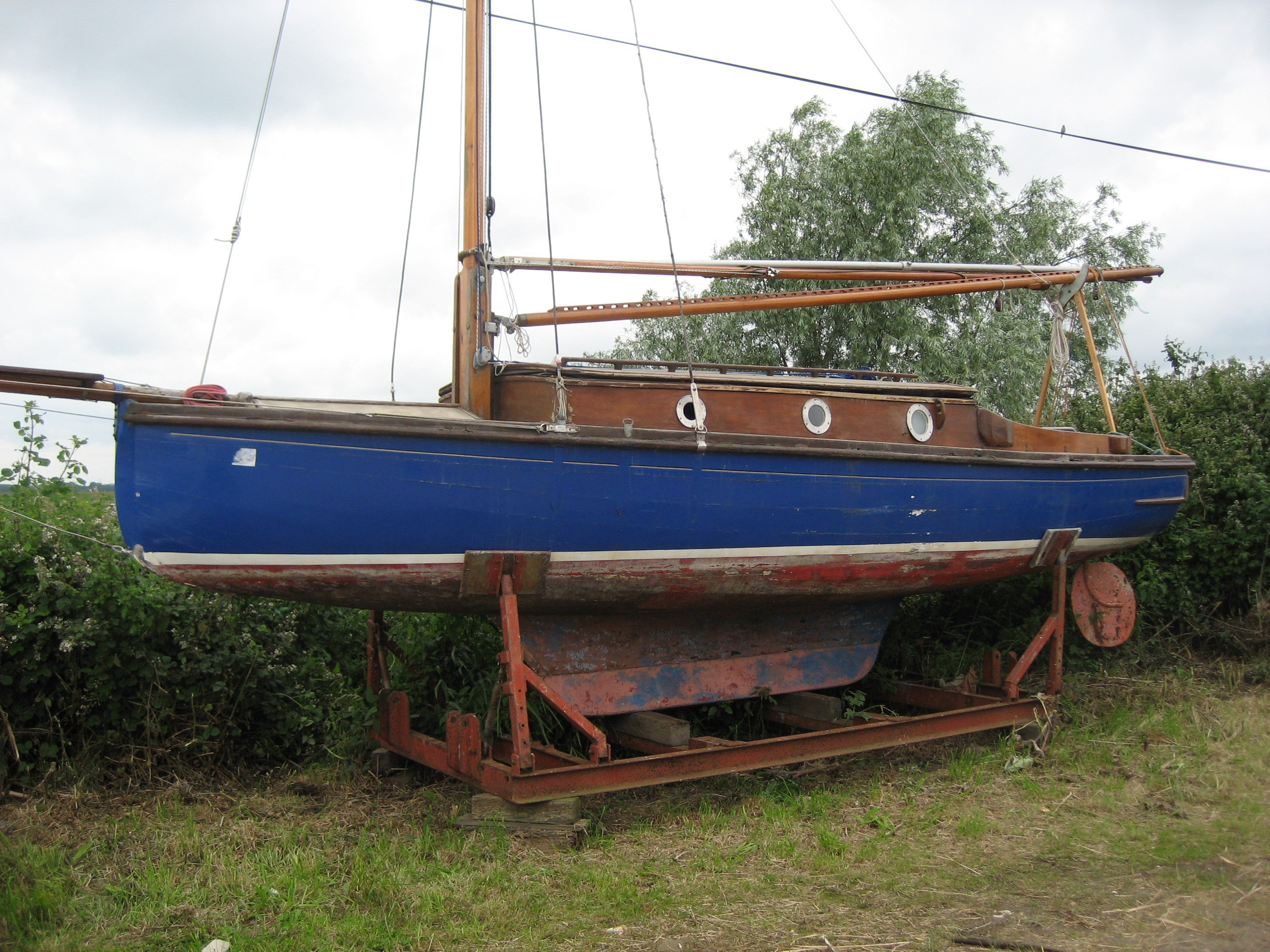 pre-owned boat
