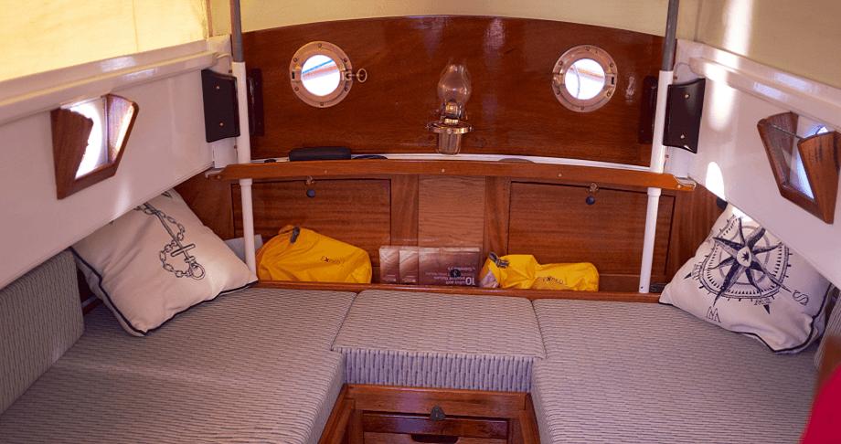 winter storage boat