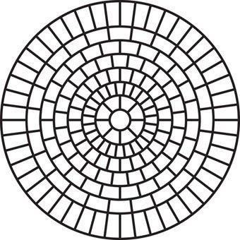 Rosette Brick Large
