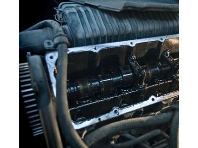 il motore di un'auto