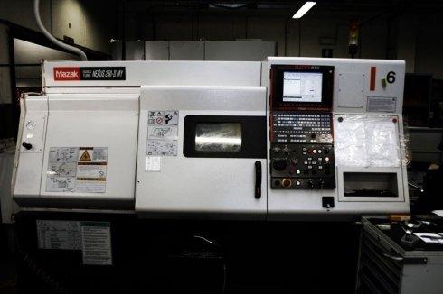 Mazak nexus lavorazione acciaio