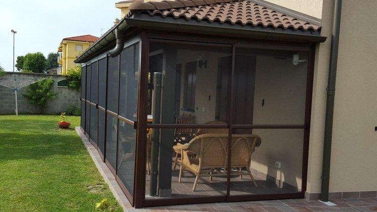 zanzariere per verande