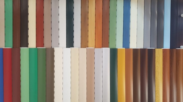 tapparelle in pvc colorate