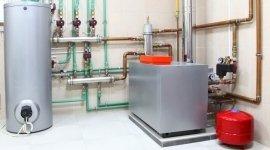 impianto termico industriale, caldaia