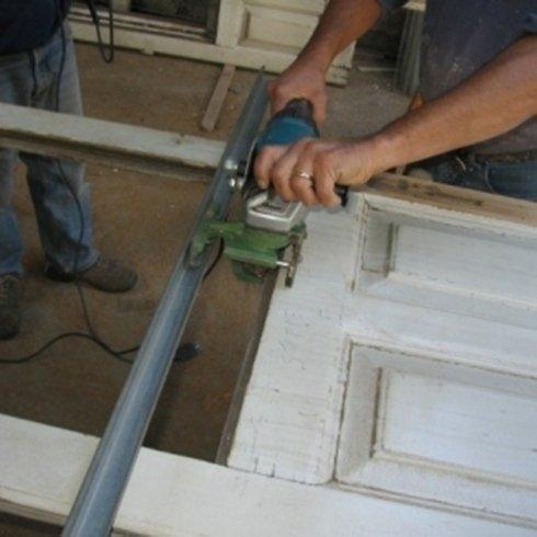 Predisposizione per inserimento vetro