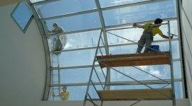 pulizia vetrate interne