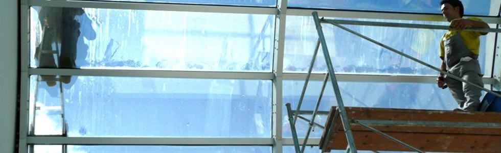 pulizia di tetti in vetro grammichele