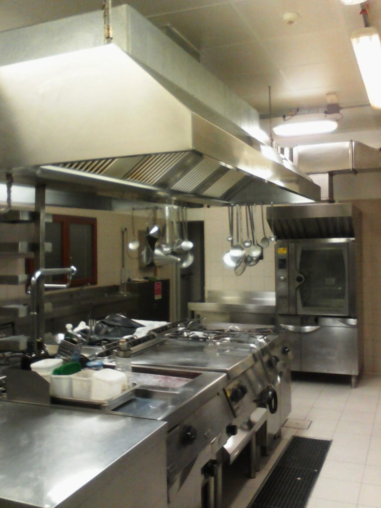 pulizie di cucine di alberghi