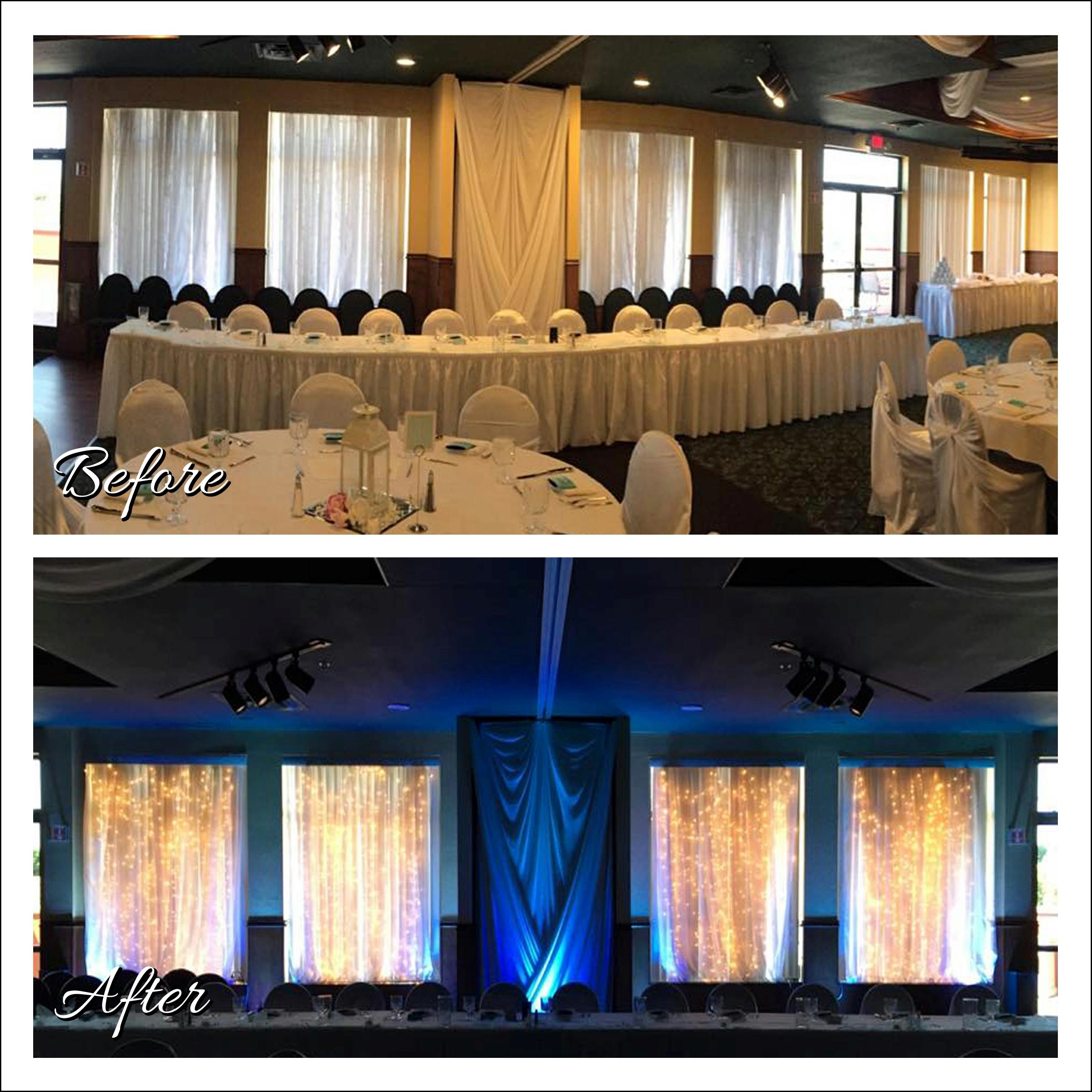 Uplighting Image, Wedding DJ, Rockwoods Conference Center, Otsego, Minnesota