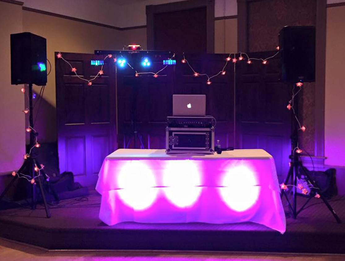 DJ Booth, 50th Birthday Party at Sweeney's Saloon, St. Paul, Minnesota