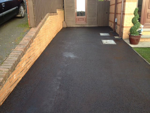 cleaner driveway