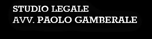 Studio legale Gamberale