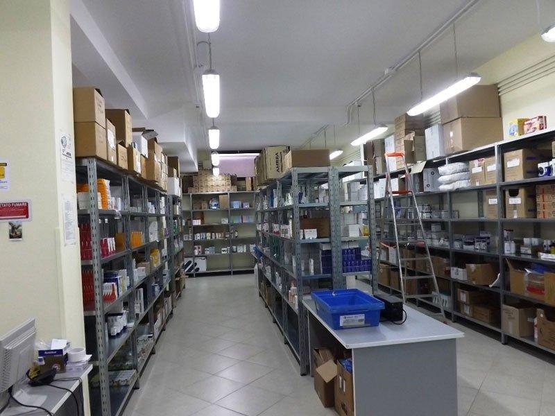 magazzino medicinali