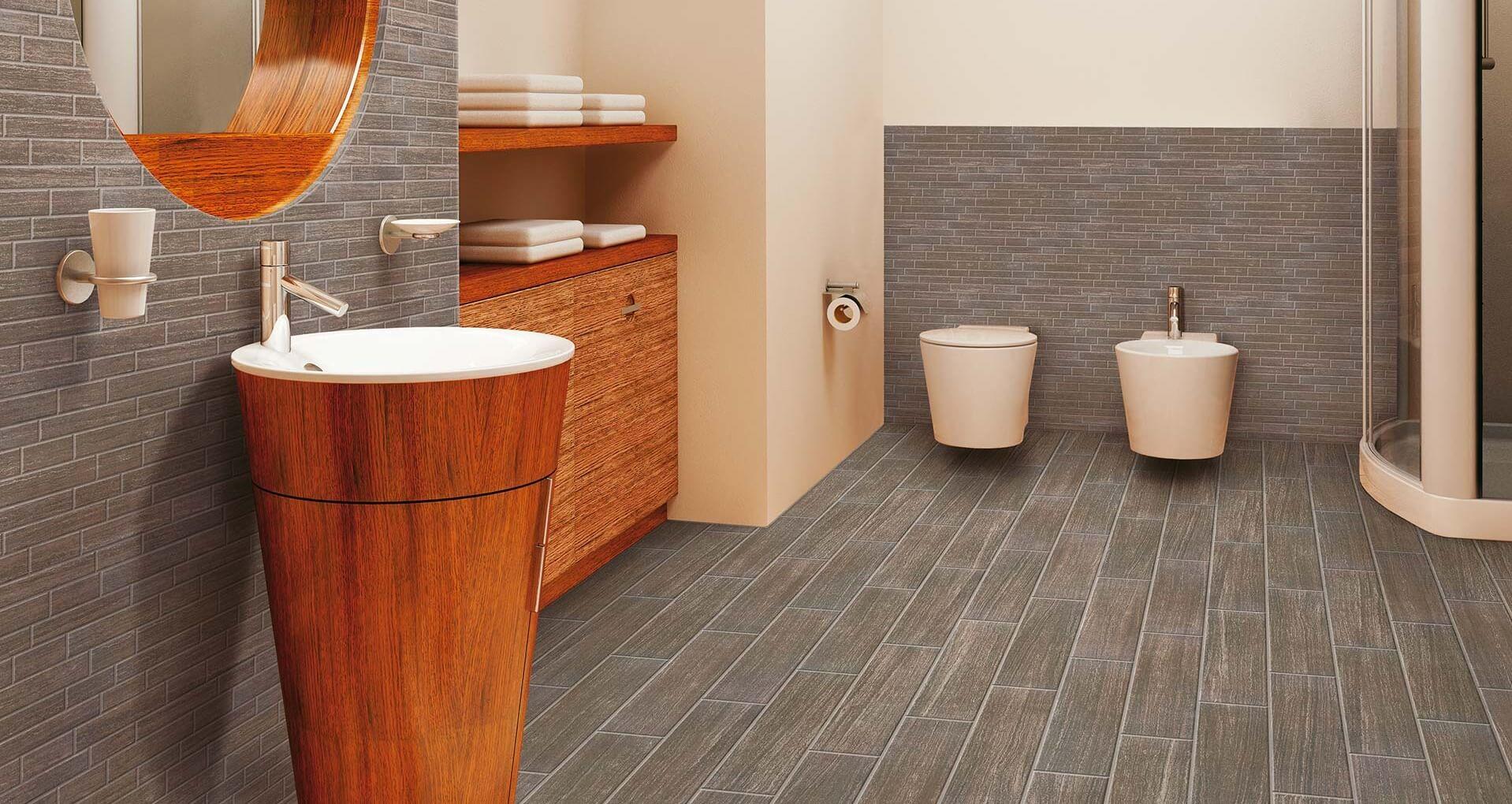 LAYERS OBSIDIAN PORCELAIN BATHROOM TILES