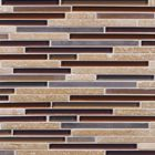 AMETHYST STONE BLEND strip mosaic tiles by fran-char
