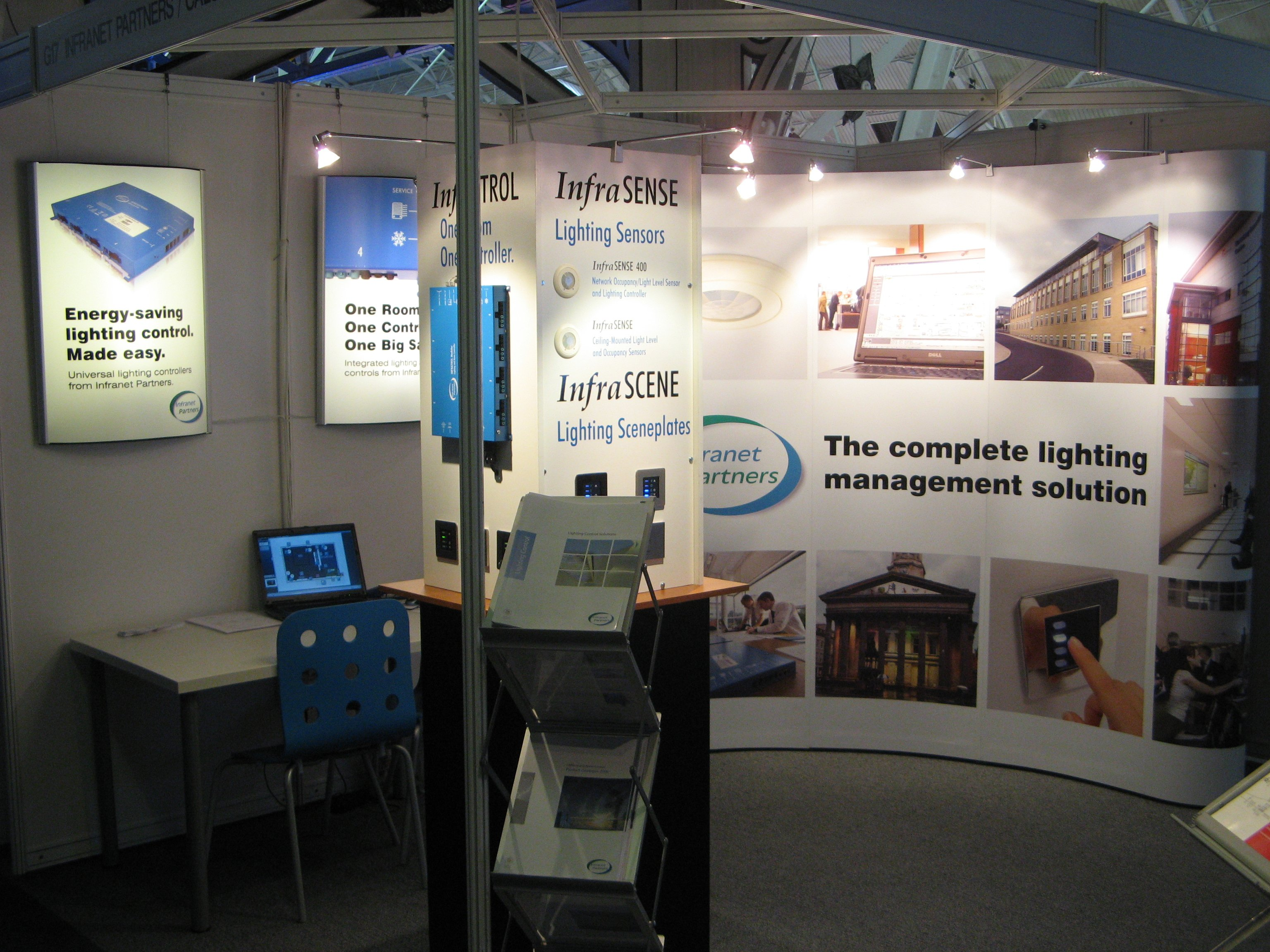 Calon exhibiting in 2008