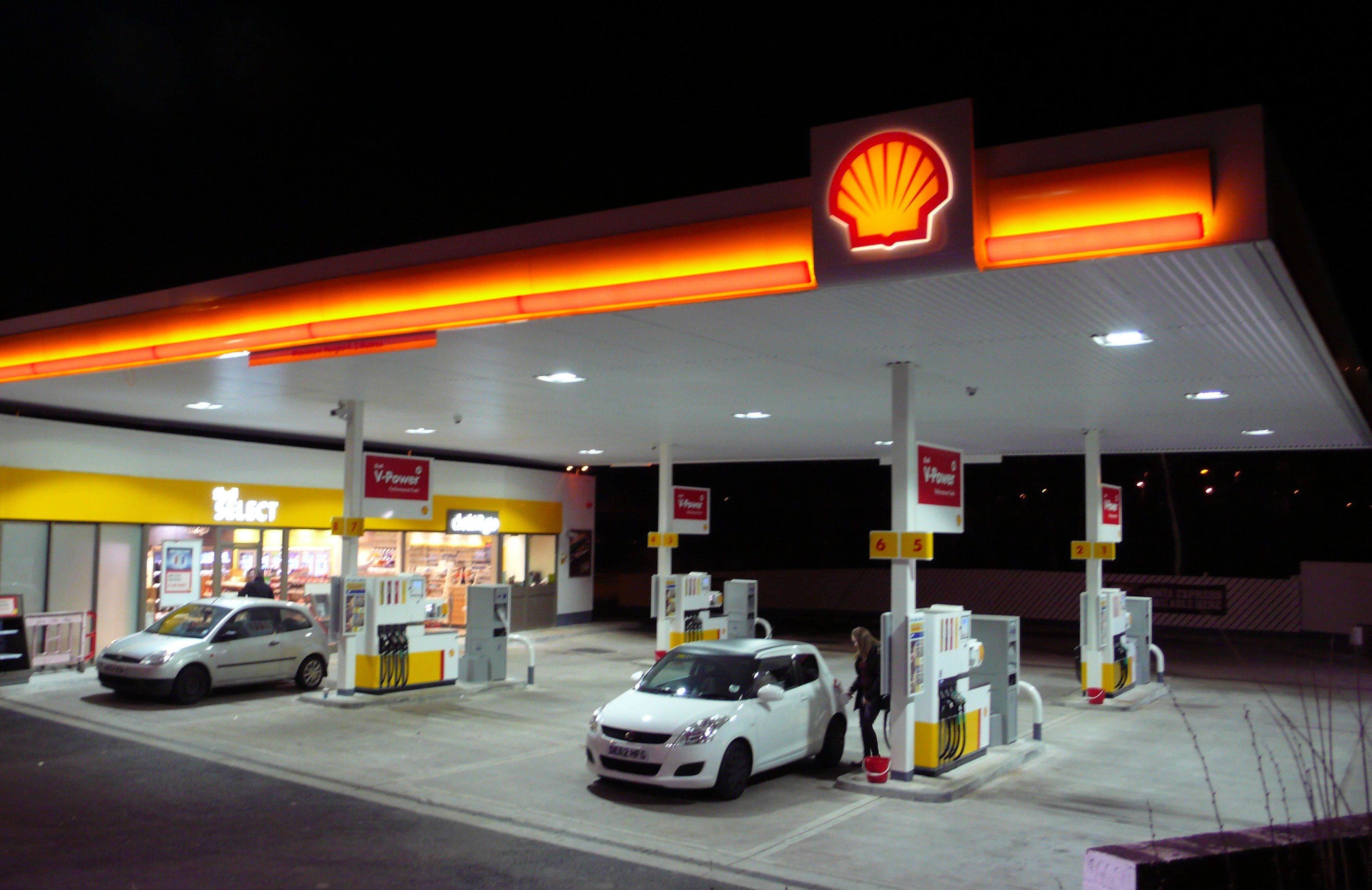 Shell project - forecourt controls 2013