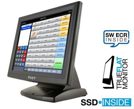 uno schermo di una cassa visto laterlamente e sulla destra la scritta SSD Inside