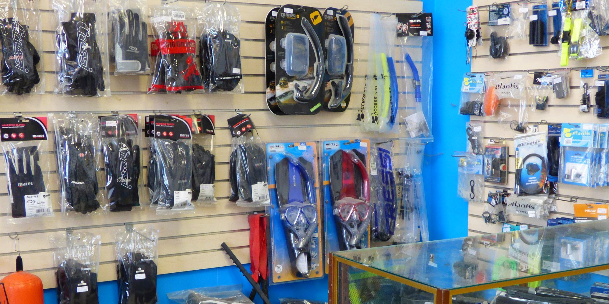 Wide range of gas equipments