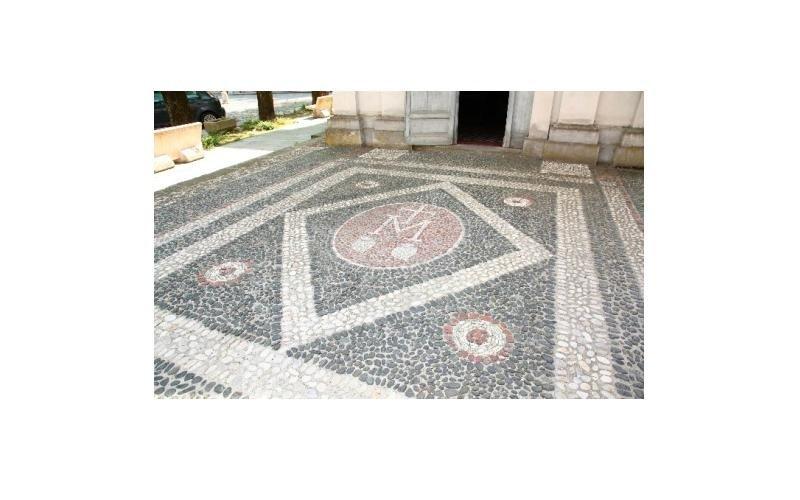 restauro corte a mosaico