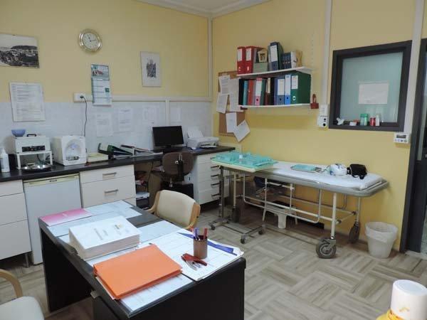 sala medica in casa di riposo
