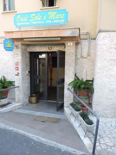 ingresso residenza protetta