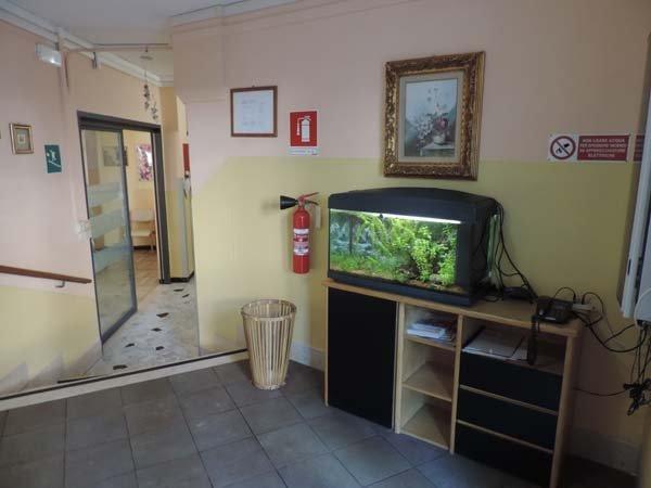 acquario in casa di riposo