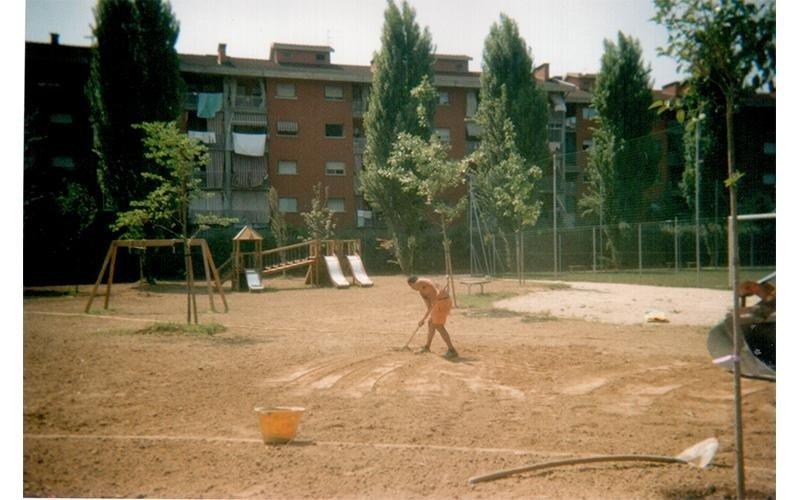 costruzione parco
