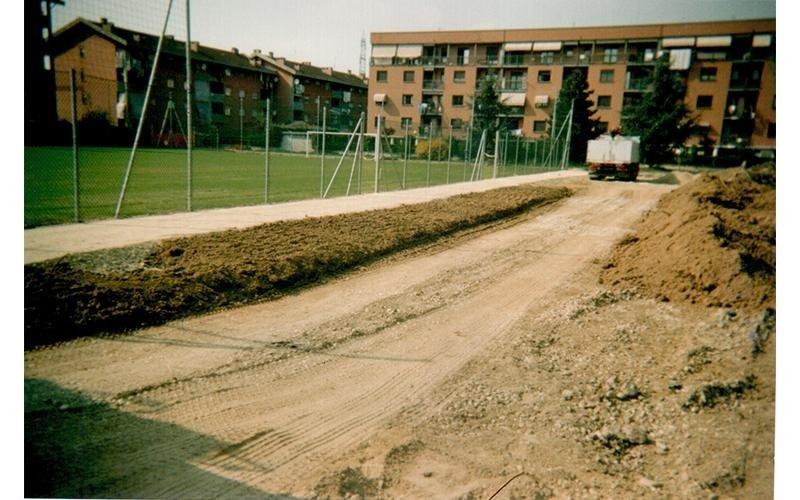 costruzione parchetto