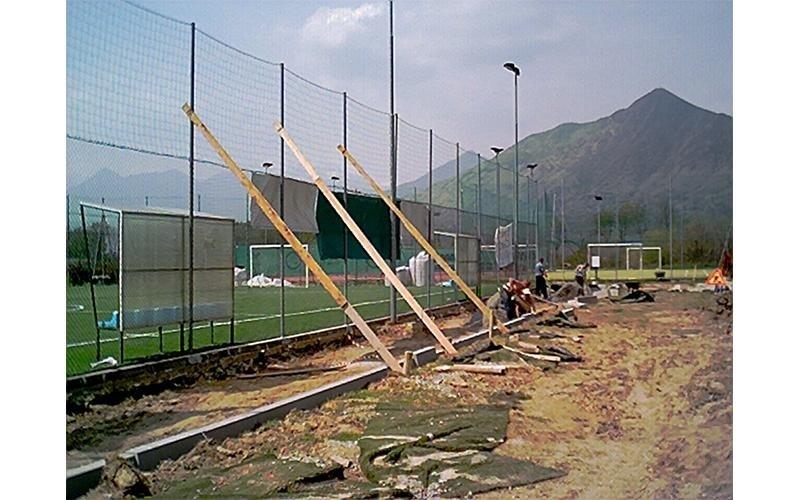 costruzione campi sport