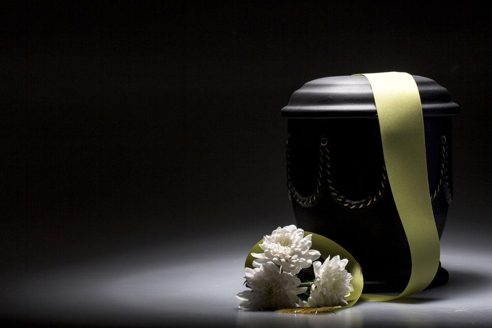 vaso per cremazione