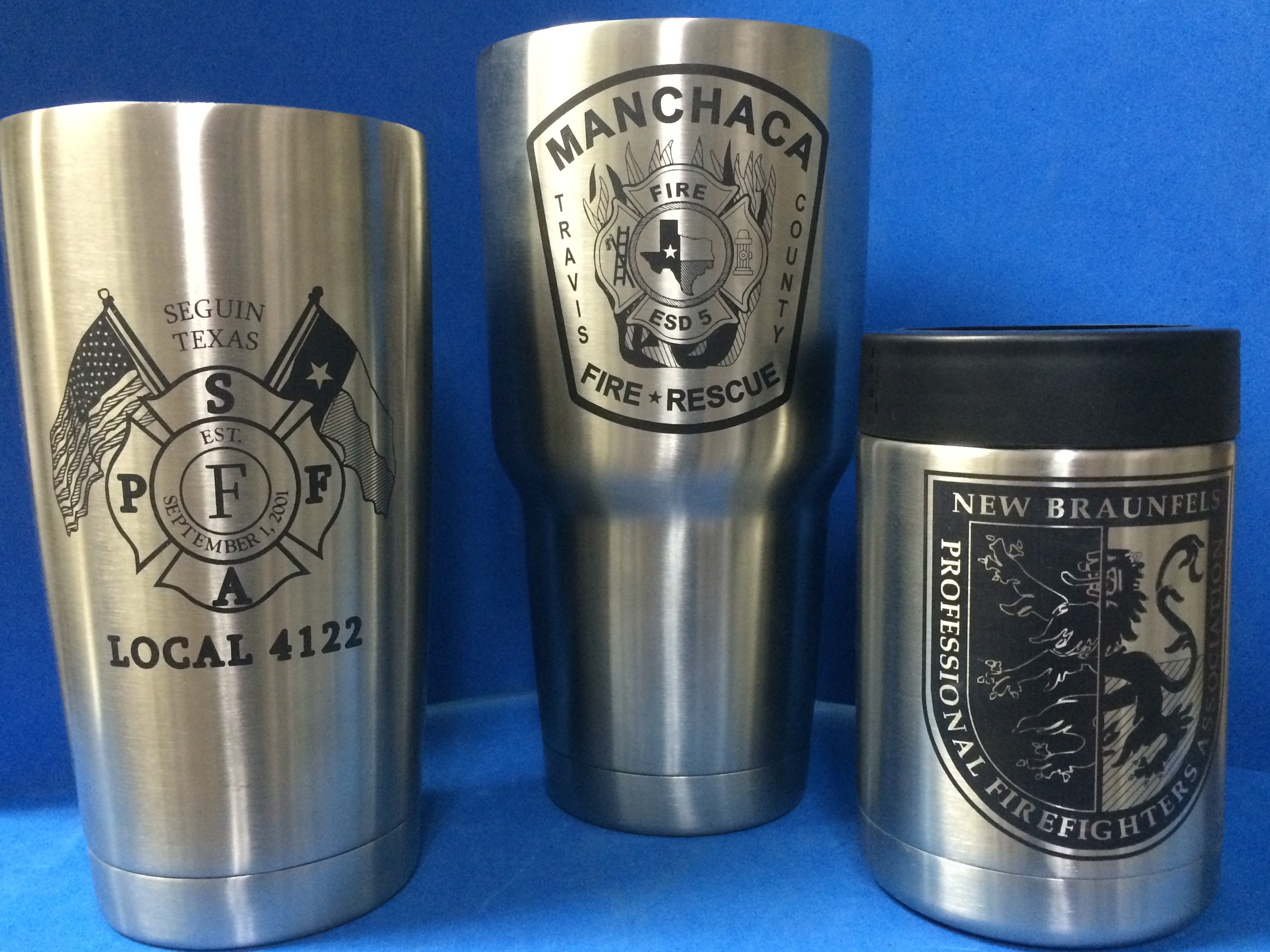 firefighters colster 20oz 30oz yeti