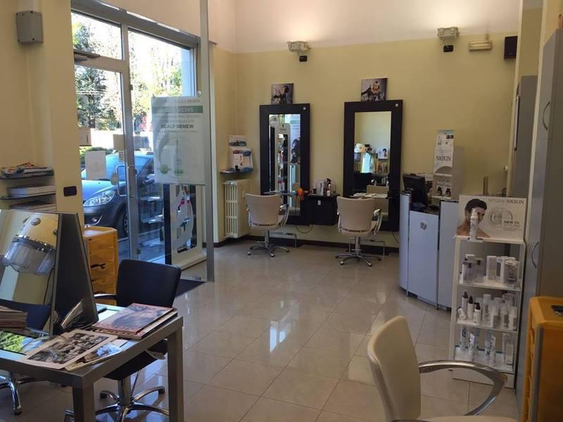 interno di un negozio parrucchieri