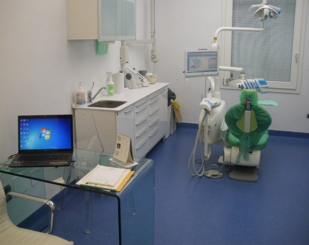 interno di uno studio dentistico