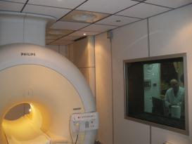 uno scanner per risonanza magnetica