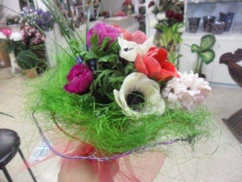 bouquet di fiori, mazzi di fiori, piante da interno