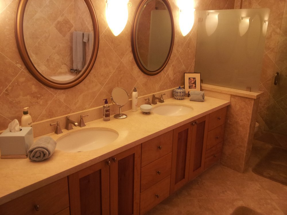 Professional plumbing services done in a bathroom in Kailua, HI