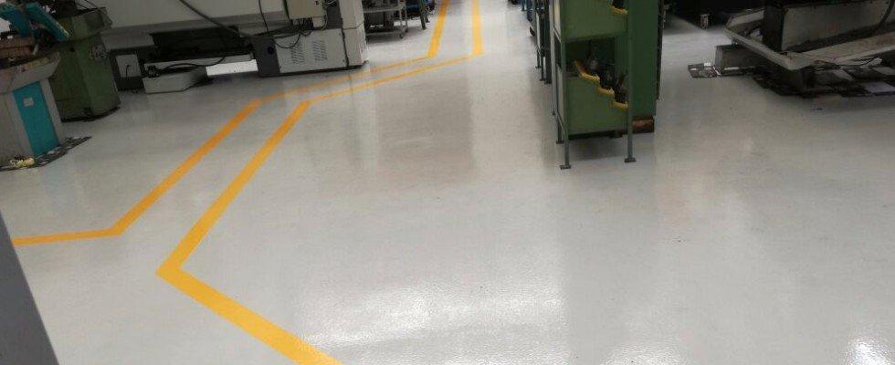 pavimenti in resina industriali