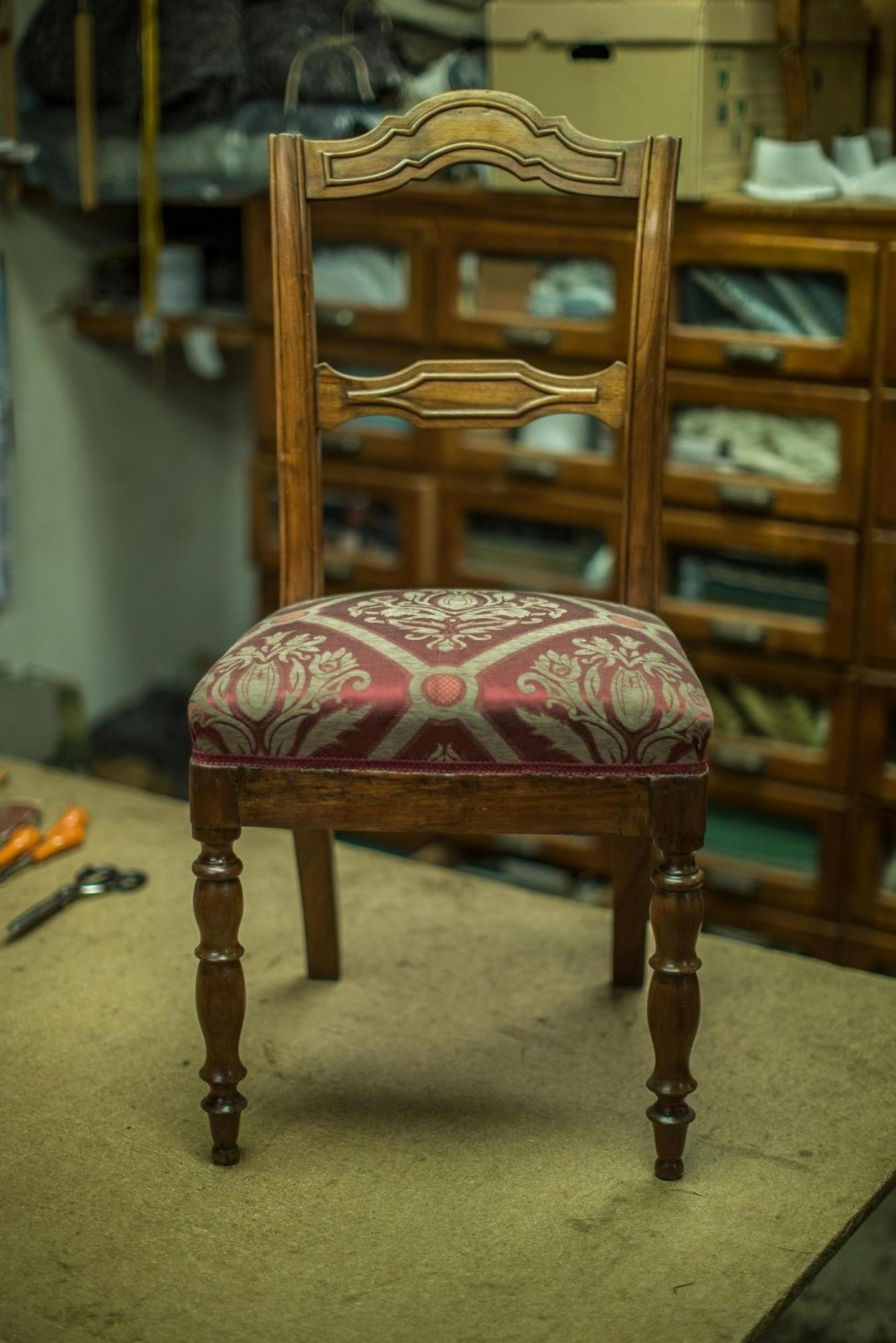 repair of coil chairs