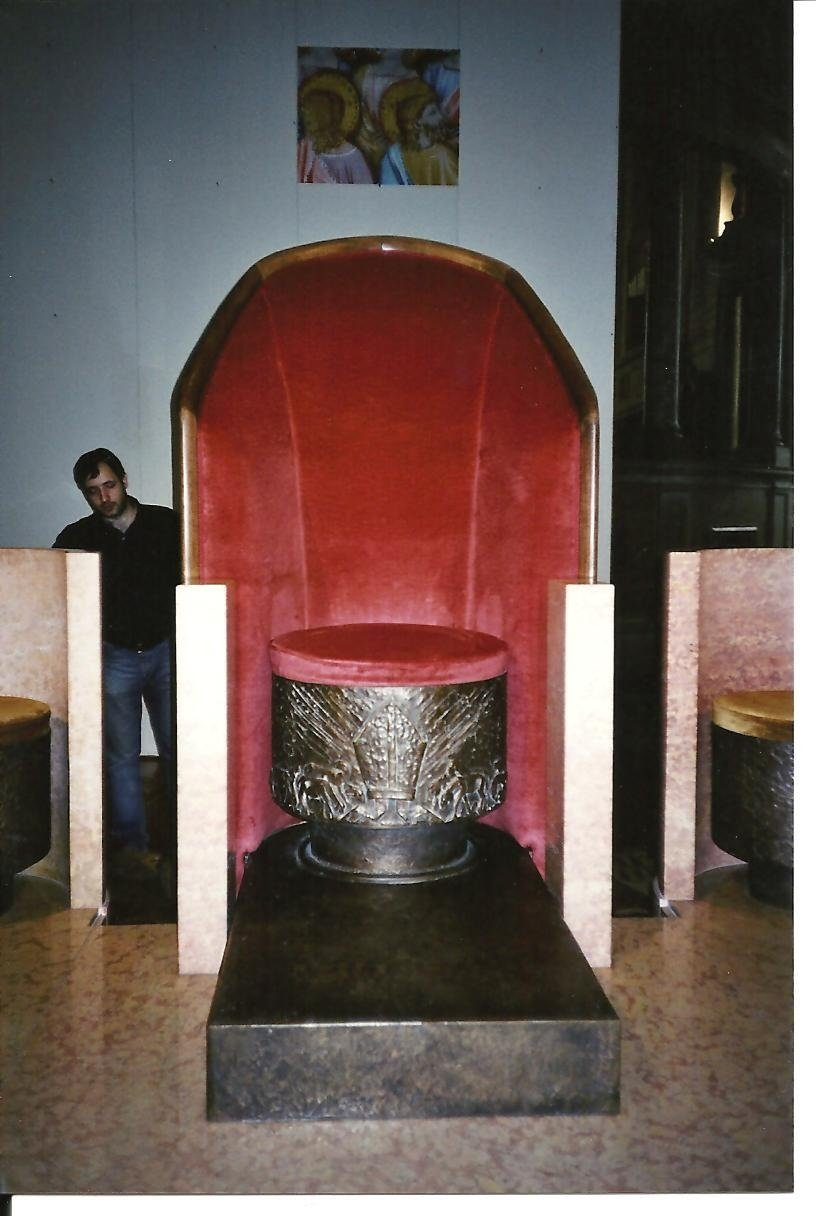 production of an armchair for Verona Cathedral.jpeg