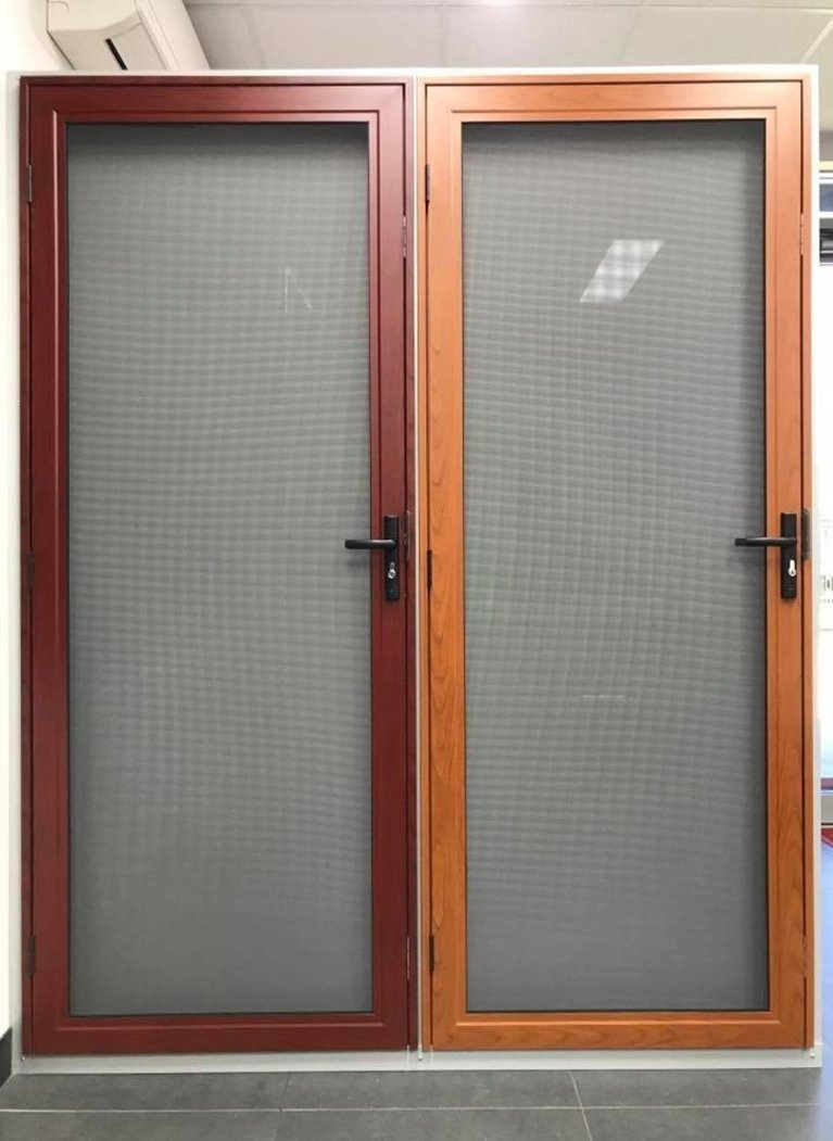 PROMESH Wood Look Hinged Security Doors