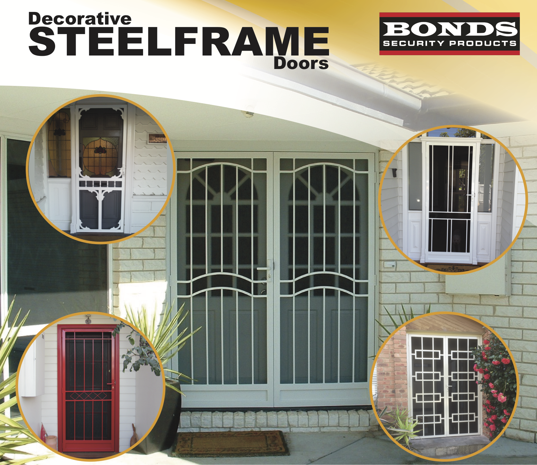 Hinged Steel Frame Doors Perth - Bonds Security Products