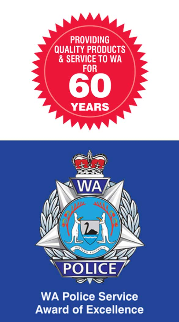 Celebrating 60 years & WA Police Service Award of Excellence