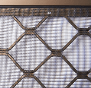 Competitors Grille Attached To Frame Only With Aluminium Rivets
